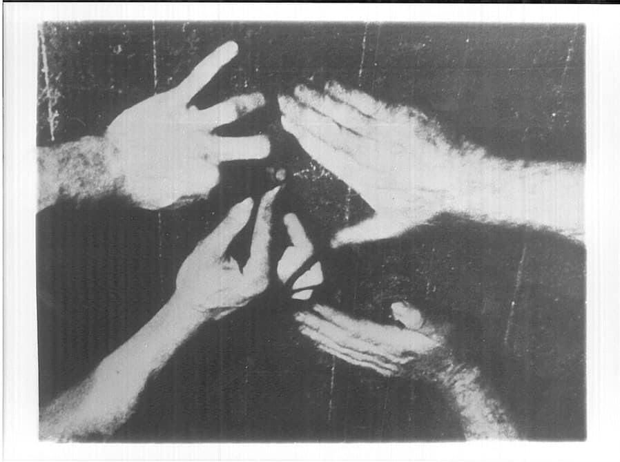Richard Serra, Hands Tied e Hands Scraping, 1968