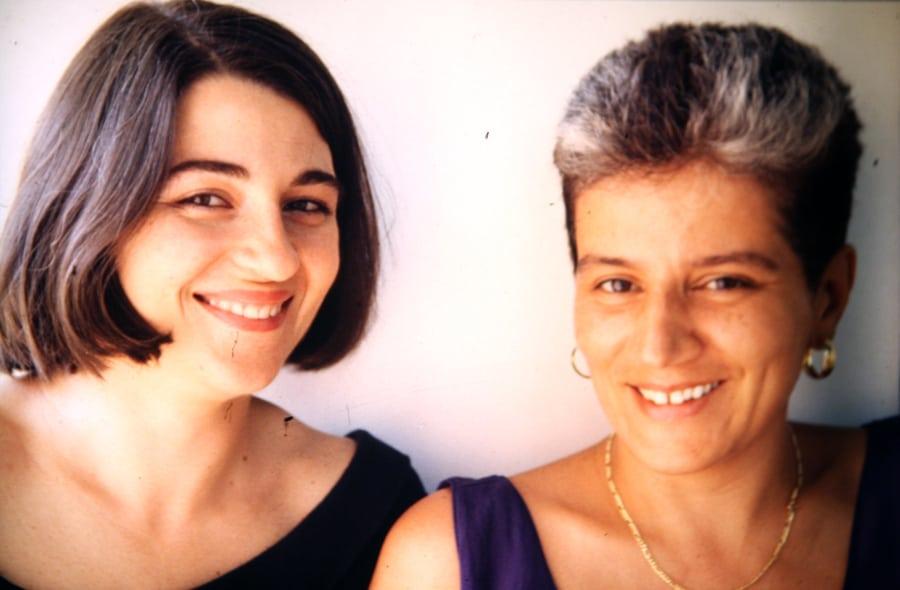 Valentina Valentini, Alessandra Cigala, 1991. Foto di Enrico Cocuccioni.