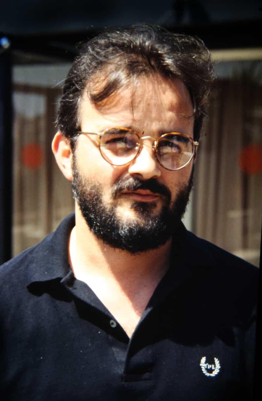 Agostino Conforti, 1993. Foto di Enrico Cocuccioni.