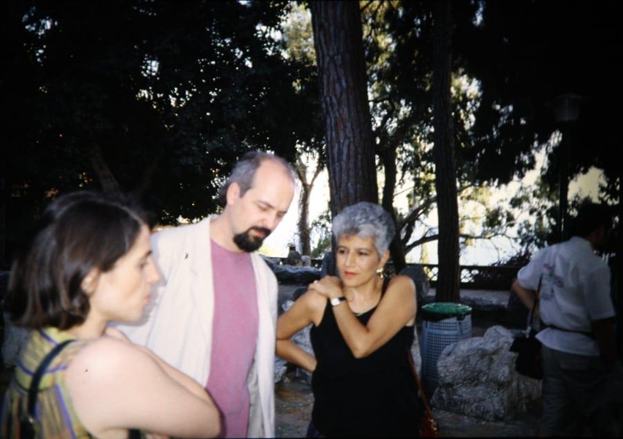 Alessandra Cigala, Bill Viola, Valentina Valentini, 1993. Foto di Enrico Cocuccioni.