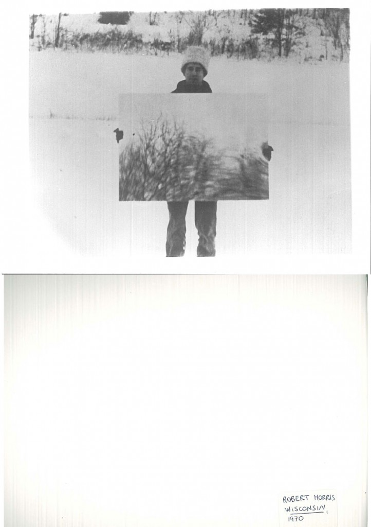 Robert Morris, Mirror, 1969