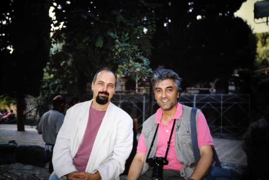 Bill Viola e Enrico Cocuccioni. Rassegna internazionale video d'autore. Taormina.