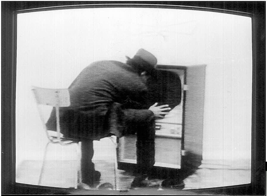 Joseph Beuys, Filz Tv, 1970 in Identifications di Gerry Schum