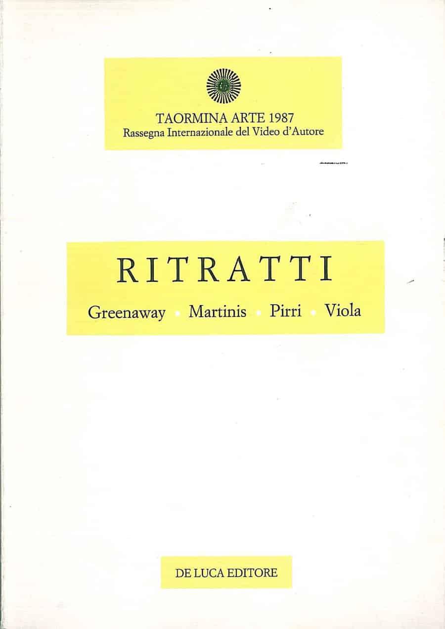 Ritratti di Valentina Valentini De LUca editore 1988