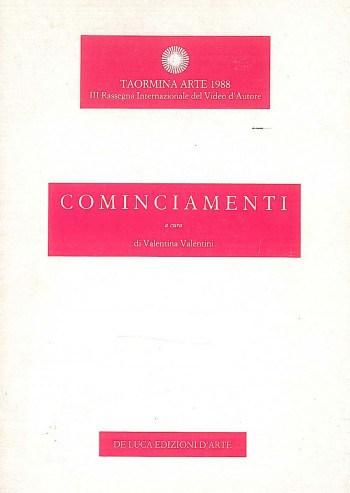Cominciamenti Valentina Valentini De Luca edizioni 1988