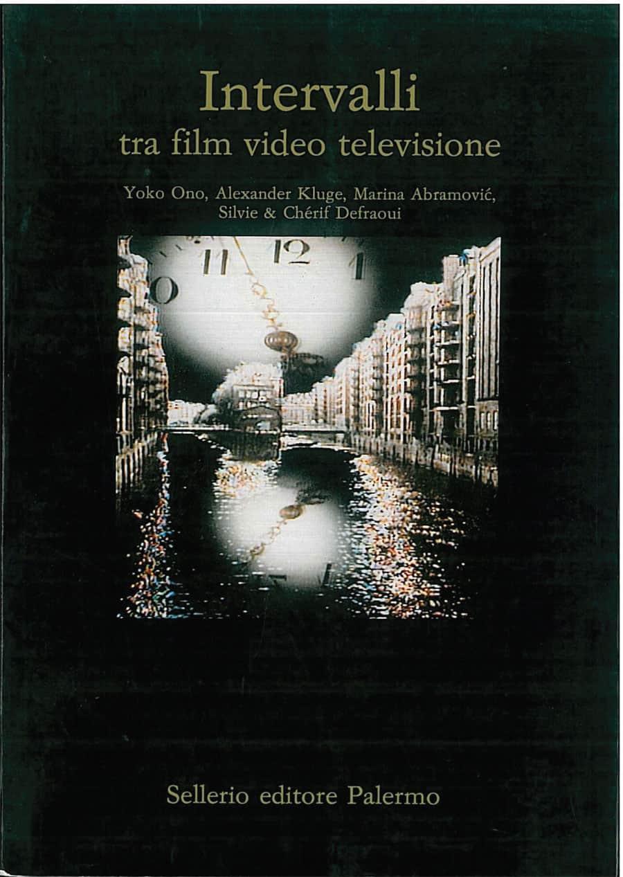 Intervalli di Valentina Valentini Sellerio editore Palermo 1989