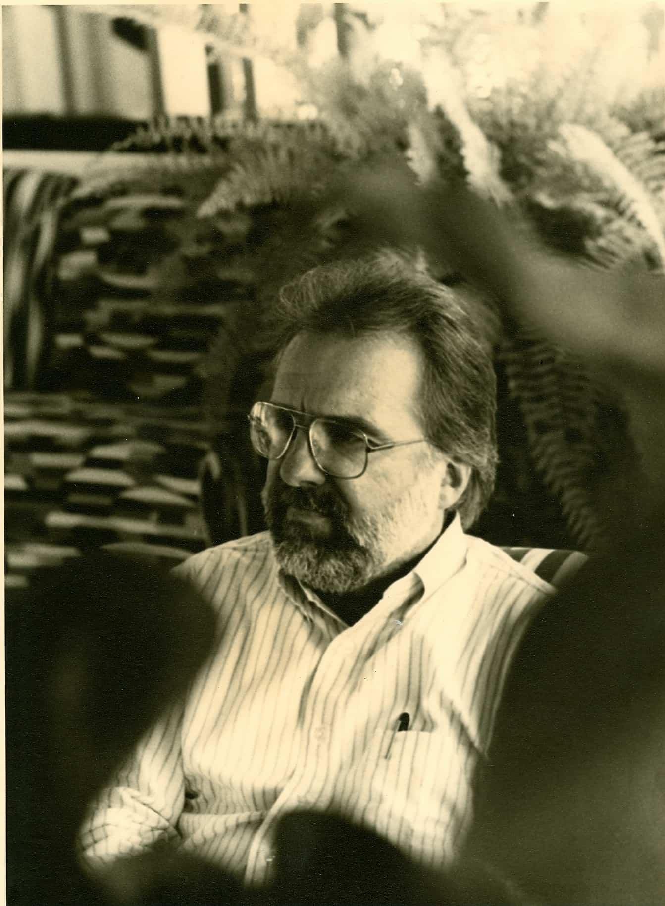 Jhon Hanhardt, 1987. Rassegna internazionale video d'autore. Taormina.