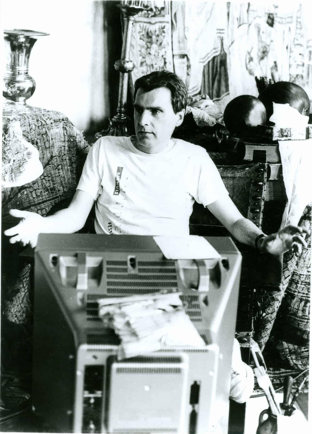 Dalibor Martinis, 1987. Rassegna internazionale video d'autore. Taormina.