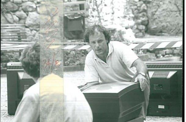 Studio Azzurro. Il segno involato. 1990. Paolo Rosa. Rassegna internazionale del video d'autore. Taormina.