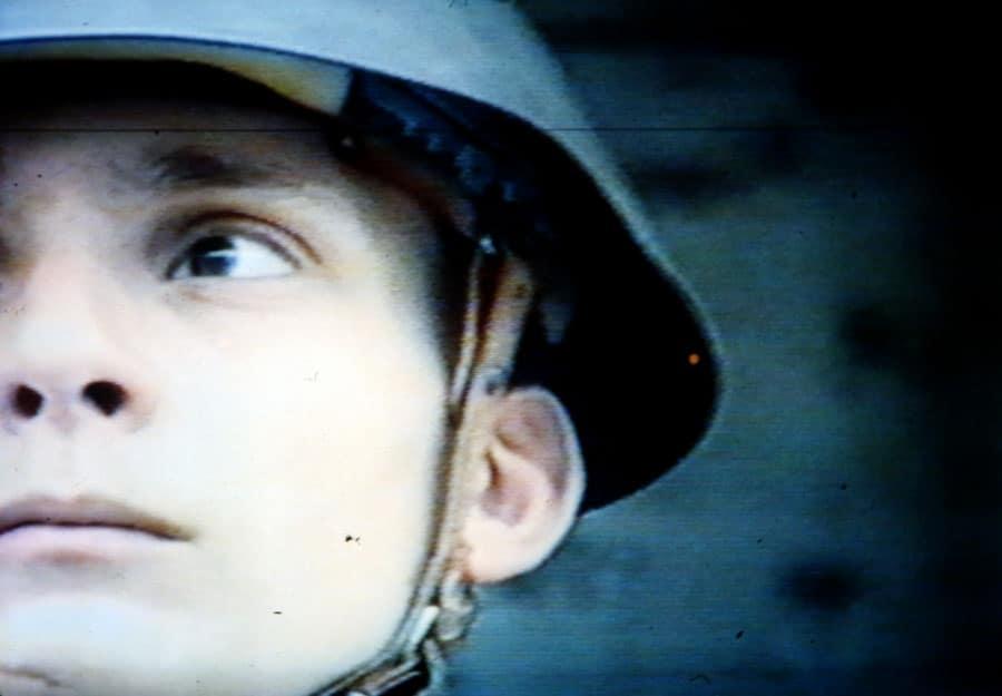 Marcel Odenbach. Wehn die wand an den tisch ruckt. 1990. Rassegna internazionale del video d'autore. Taormina.