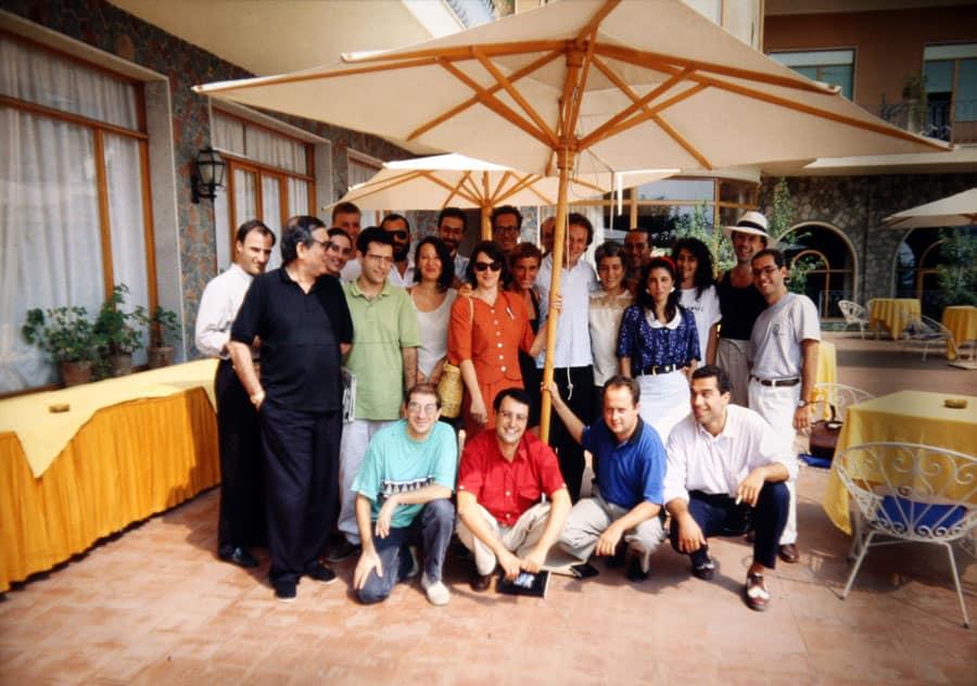 Rassegna internazionale video d'autore. Taormina. 1990.