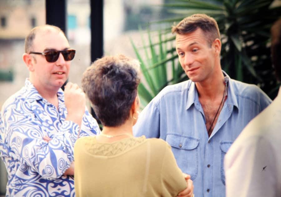 James Mckay, Valentina Valentini, John Maybury, 1992. Rassegna internazionale video d'autore. Taormina.