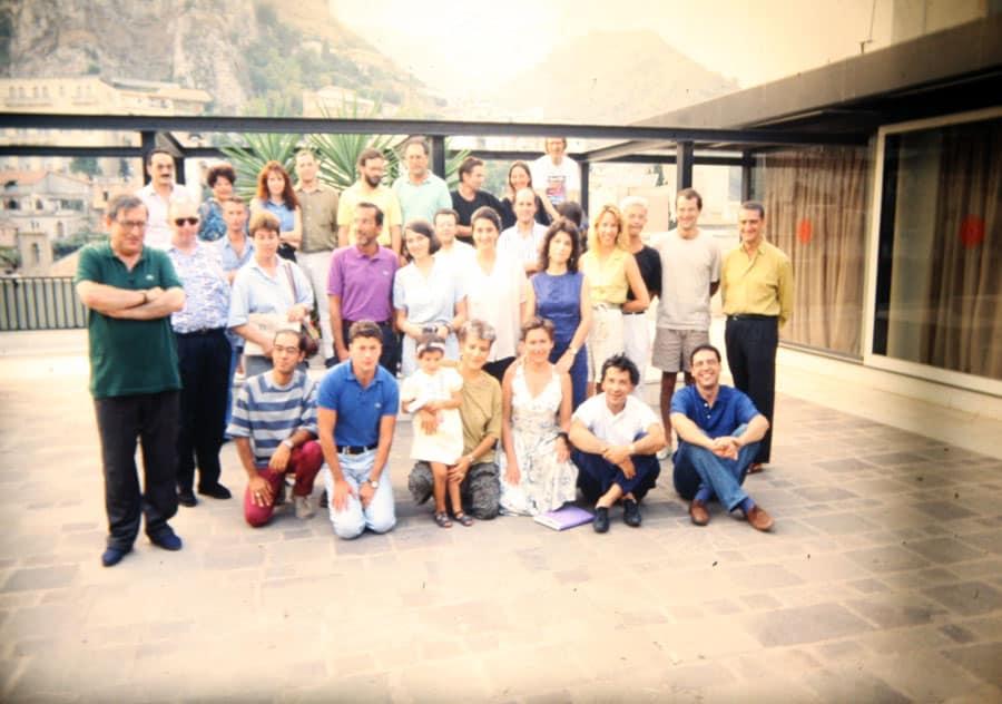 1992. Rassegna internazionale video d'autore. Taormina.