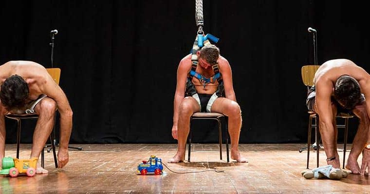 Babilonia Teatri. Pinocchio. 2012. Foto di Nirmal Caselli.