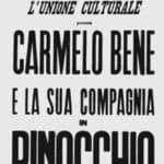 Poster of Pinocchio, Turin, Theater Alfieri, 1966.