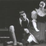 Carmelo Bene. Pinocchio 1999. Theater of Rome. Invitation.