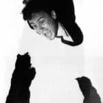 Giorgio Barberio Corsetti. Descrizione di una battaglia. 1988. Foto di Piero Tauro. Pubblicata in G. B. Corsetti, R. Molinari (a cura di), 'L'attore mentale', Ubulibri, Milano, 1992, pag.155