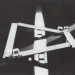 Studio Azzurro. La camera astratta. 1987. Studi preparatori. Foto di Studio Azzurro. Pubblicata in Studio Azzurro e Giorgio Barberio Corsetti, 'La camera astratta, tre spettacoli tra teatro e video
