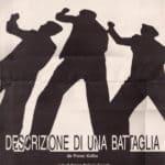 Giorgio Barberio Corsetti. Descrizione di una battaglia. 1988. Locandina.