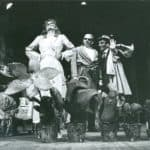 L'uomo la bestia e la virtù di Luigi Pirandello, directed by Carlo Cecchi, production, Teatro Niccolini (Florence), 1980/81, photography by Maurizio Buscarino