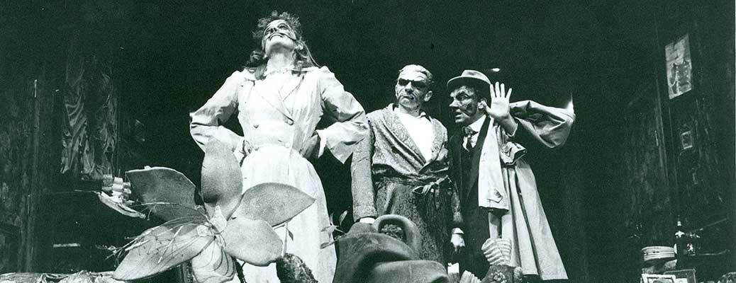 Carlo Cecchi. L'uomo la bestia la virtù. 1980