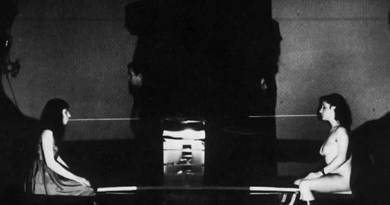 Il Carrozzone. Vedute di Porto Said. 1978. Photo by Giuseppe Pino. Published in Rossella Bonfiglioli (edited by) 'Frequenze barbare : Teatro Ambiente, Cinema, Mass Media, Metropoli, Musica, Pornografia nel Carrozzone Magazzini Criminali Prod.', La Casa Usher, Florence 1981, p.138