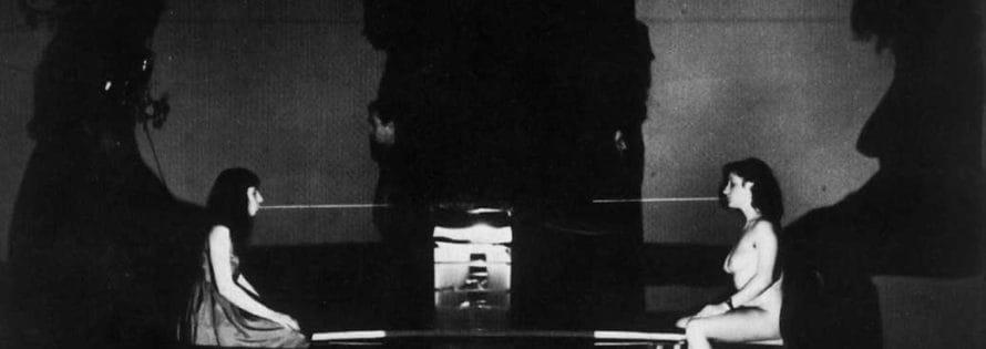Il Carrozzone. Vedute di Porto Said. 1978. Foto di Giuseppe Pino. Pubblicata in Rossella Bonfiglioli (a cura di) 'Frequenze barbare : Teatro Ambiente, Cinema, Mass Media, Metropoli, Musica, Pornografia nel Carrozzone Magazzini Criminali Prod.', La Casa Usher, Firenze 1981, p.138