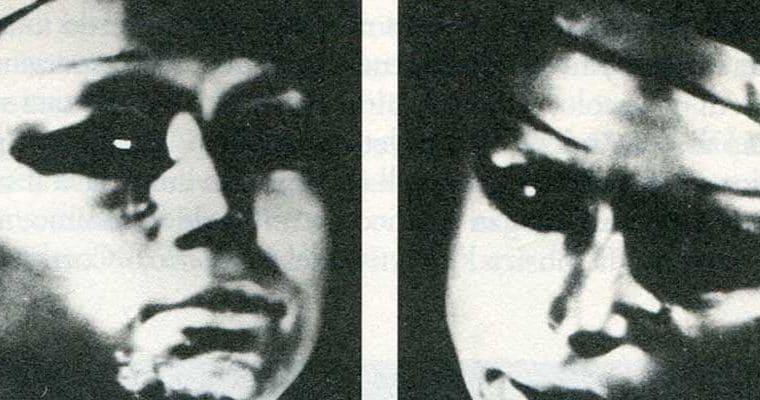 Leo e Perla, La faticosa messinscena dell'Amleto di William Shakespeare, fotogramma di uno dei film proiettati, 1967. Pubblicata in Gianni Manzella, 'La bellezza amara. Arte e vita di Leo de Berardinis', La Casa Usher, 2010, p. 15