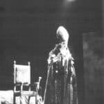 Compagnia Lombardi-Tiezzi.Edipus. 1994. Sandro Lombardi. © Photo by Marcello Norberth. Published in «Patalogo», 17, Ubulibri, 1995, pag. 140