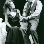 Raffaella Azim e Carlo Cecchi.Teatro Stabile di Torino.La Serra.1997. ©fotografia di Maurizio Buscarino. Centro Studi TST