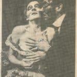 Raffaella Azim e Carlo Cecchi, L'uomo la bestia la virtù 1982, published in «Stampa sera», 17 February 1982