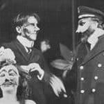 Carlo Cecchi. L'uomo, la bestia e la virtù. 1976. Nella foto: Luisa De Sanctis, Carlo Cecchi, Carlo Monni.