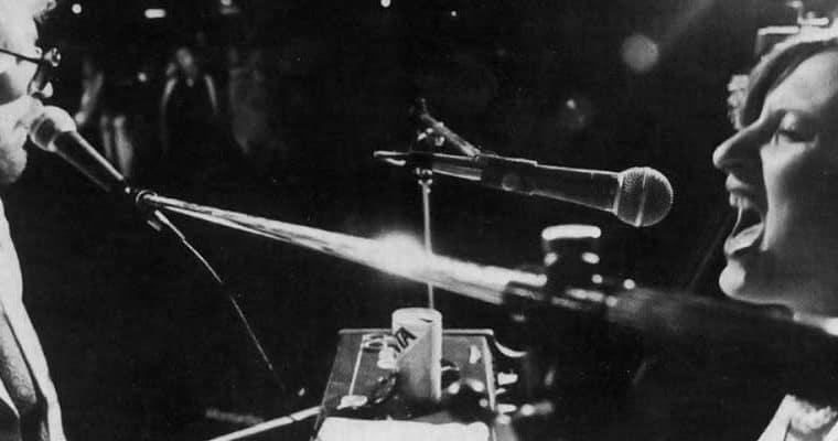 Il Carrozzone. Last concert polaroid. 1979. Foto di Piero Marsili. Pubblicata in Rossella Bonfiglioli (a cura di) 'Frequenze barbare : Teatro Ambiente, Cinema, Mass Media, Metropoli, Musica, Pornografia nel Carrozzone Magazzini Criminali Prod.', La Casa Usher, Firenze 1981, p.111