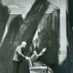 Valerio Binasco e Carlo Cecchi.Teatro Stabile di Firenze (Niccolini) /Il Granteatro.Finale di partita. 1995.©fotografia di Massimo Agus.Centro Studi TST