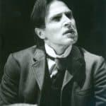 Carlo Cecchi.Teatro Niccolini di Firenze/Il Granteatro.Ivanov.1982.© fotografia di Maurizio Buscarino.Centro Studi TST