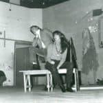 Carlo Cecchi e Angelica Ippolito.Cooperativa Il Granteatro.Il ricatto a teatro, ospite nella stagione del Teatro Stabile di Torino 1971/72. Centro Studi TST