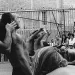 I negri. La Compagnia della Fortezza.1996. © foto di Stefano Vaja