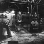 Il Carrozzone. Last concert polaroid. 1979. Photo by Piero Marsili. Published in Rossella Bonfiglioli (edited by) 'Frequenze barbare : Teatro Ambiente, Cinema, Mass Media, Metropoli, Musica, Pornografia nel Carrozzone Magazzini Criminali Prod.', La Casa Usher, Florence 1981, p.152