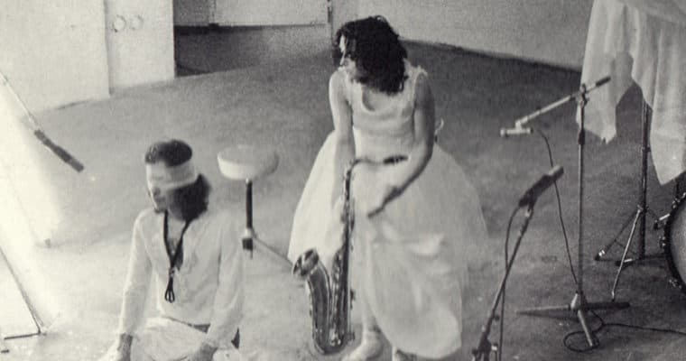 Leo e Perla. O' Zappatore. 1972. Teatro di Marigliano. Leo De Berardinis e Perla Peragallo. Pubblicata in «La bellezza amara. Il teatro di Leo De Berardinis», Pratiche, Parma 1993