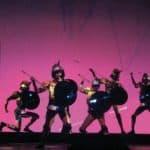 Krypton. Eneide. 1983. Scene di Alfredo Pirri. © Foto di Sferlazzo & Lucchese.