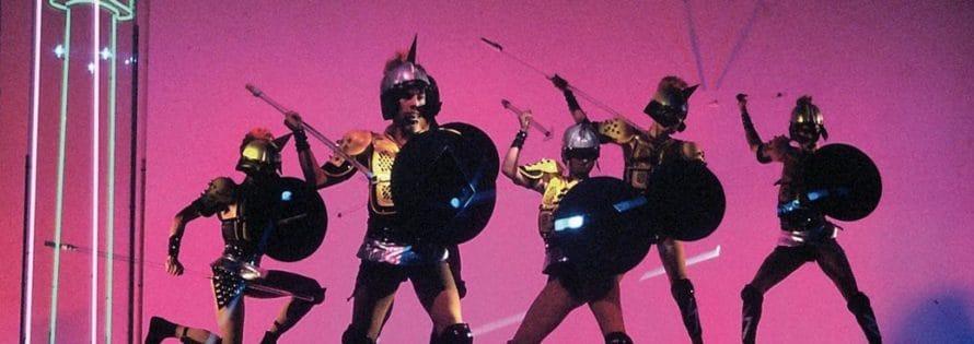 Krypton. Eneide. 1983. Scene di Alfredo Pirri. © Foto di Sferlazzo & Lucchese. Anni 80.