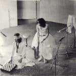 Leo e Perla. 'O Zappatore. 1972. Teatro di Marigliano. Leo De Berardinis e Perla Peragallo. Pubblicata in «La bellezza amara. Il teatro di Leo De Berardinis», Pratiche, Parma 1993