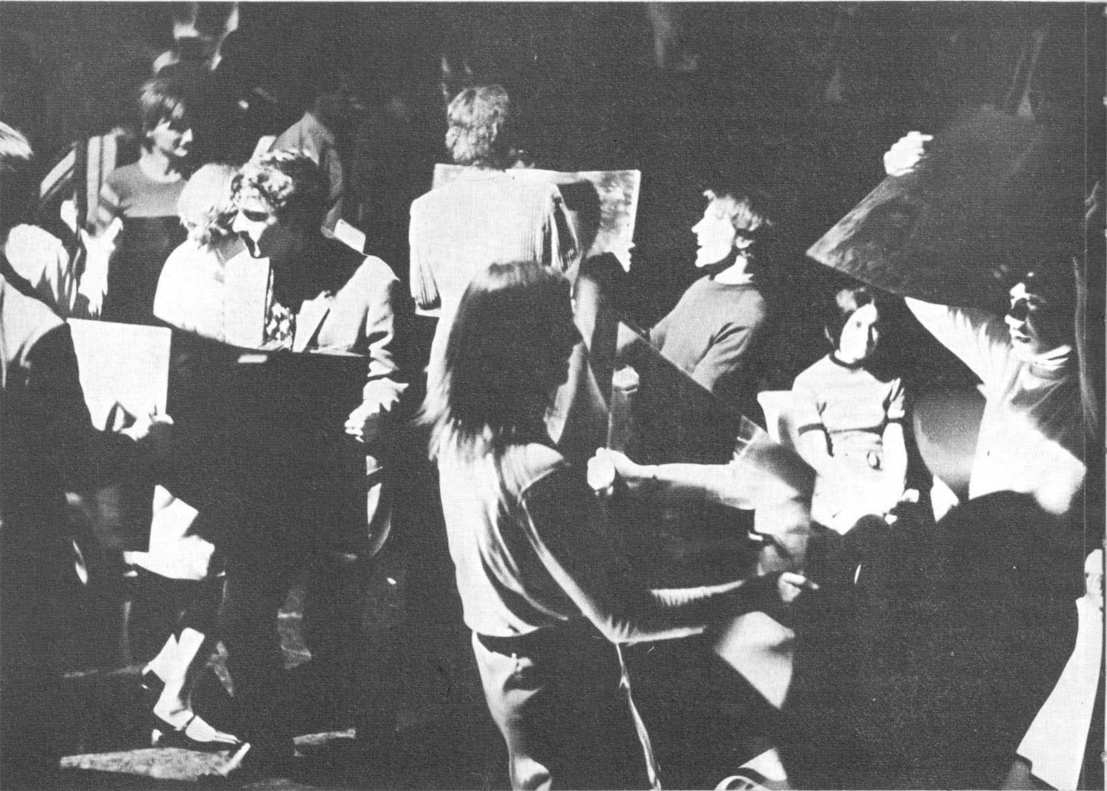 Lo zoo. Michelangelo Pistoletto. 1969. Pubblicate in Germano Celant, «Arte povera», mazzotta editore, 1969.