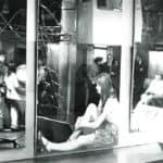 Torino. Piper. 1966. Pietro Derossi. La scala sonora. Foto di Rinaldi. Pubblicata in Derossi, Angeli, «L'avventura del progetto. L'architettura come conoscenza, esperienza, racconto», Franco Angeli, 2012.