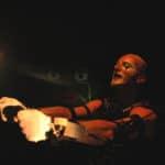 Roberto Latini. Ubu incatenato. 2005. © Foto di Cristiano Colangelo.