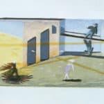 Cuori strappati. La Gaia Scienza. 1983. © Bozzetto di Beatrice Scarpato. Pubblicata in «Frigidaire», n°32-33, luglio-agosto, 1983.