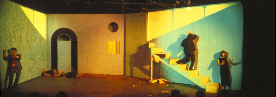 La Gaia Scienza. Cuori strappati. 1983. Archivio privato Marco Solari.