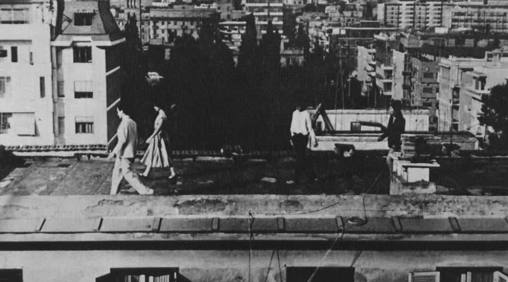 La Gaia Scienza. Una notte sui tetti. 1978. Pubblicata in «Panorama», 18 aprile 1978.