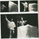 Memè Perlini. Pirandello, chi? 1973. foto di D. Rimoldi, in G. Bartolucci, D. Rimoldi, Immagine-Immaginario, Studio Forma, Torino 1978, p. 30