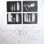 Mario Ricci. Illuminazione. 1967. Disegno ricostruzione di Umberto Bignardi 1994